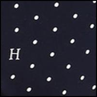 Peacoat H Dot