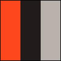 Persimmon/Grey/Black