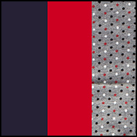 Peacoat/Red/Mini Dot