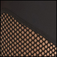 Black Nylon/Fishnet