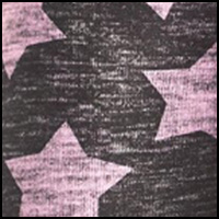 Heathered Pink Stars