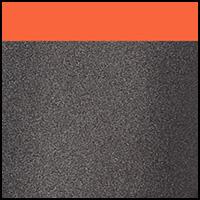 Charcoal/Orange