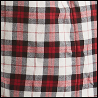 Plaid Timeless Red