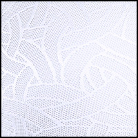 Star White Jacquard