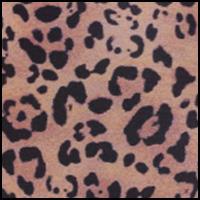 Toffee Leopard Print