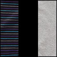Grey/Stripe/Black