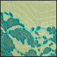 Lime Cream/Turquoise