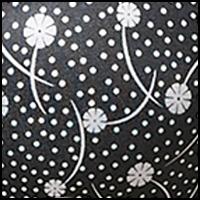 Black Snowing Floral