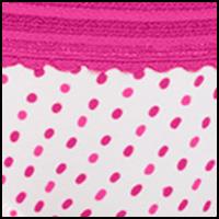 Pink Glow Dot Print
