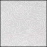 Platinum Floral Print